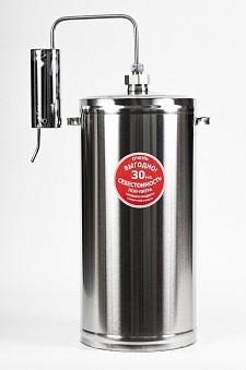 Дистиллятор Первач — Эконом 30Т, домашний 30 л., охладитель, термометр