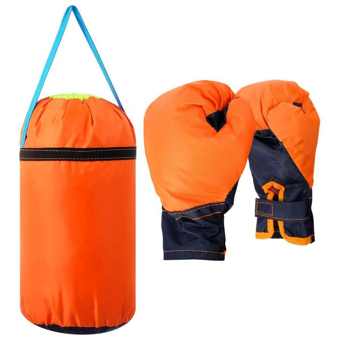 Купить Детский боксёрский набор малый (перчатки, груша), Игрушки для мальчиков