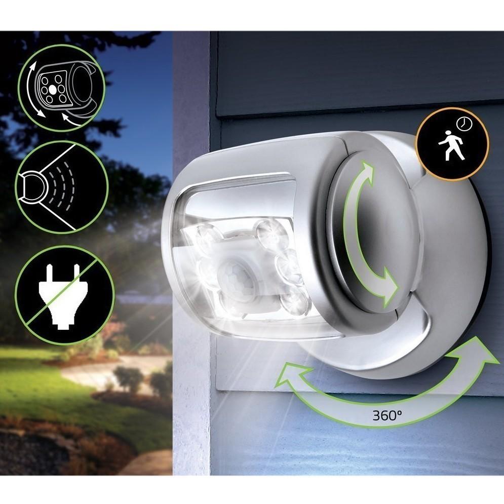Светодиодный светильник с датчиком движения Wireless Led Porch Light, , Светильники