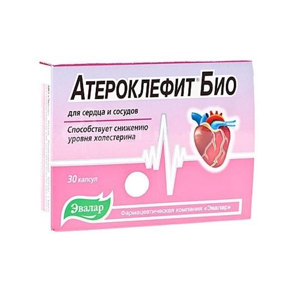 Атероклефит Био Эвалар - 30 капсул