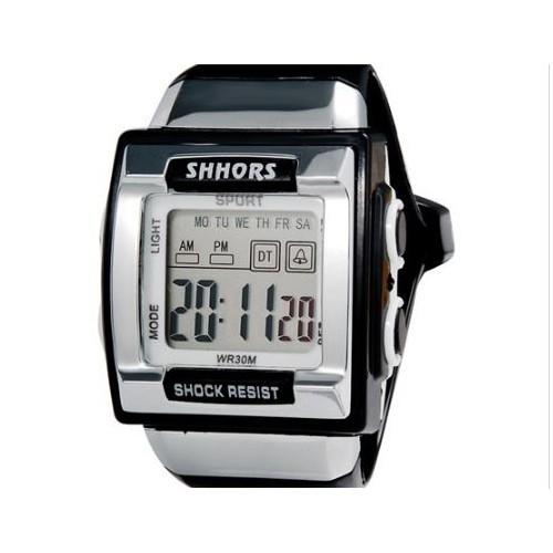 Водонепроницаемые led часы shors sh-358