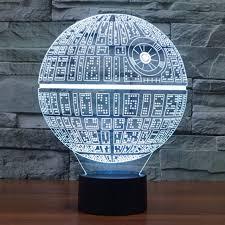 Светильник 3D - Звезда смерти
