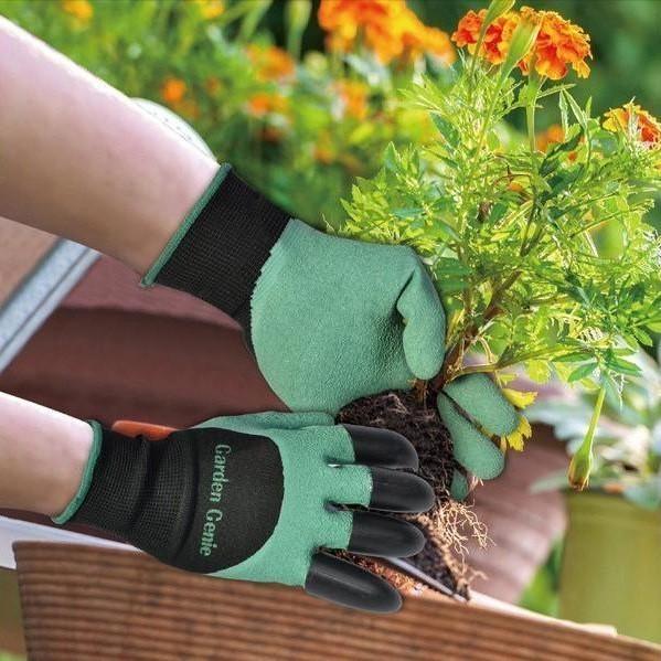 Садовые перчатки с когтями Garden Genie Gloves от MELEON