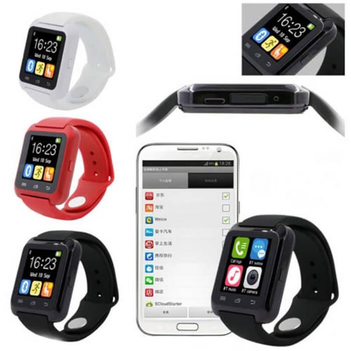 Умные часы Smart Watch U80 - красные от MELEON