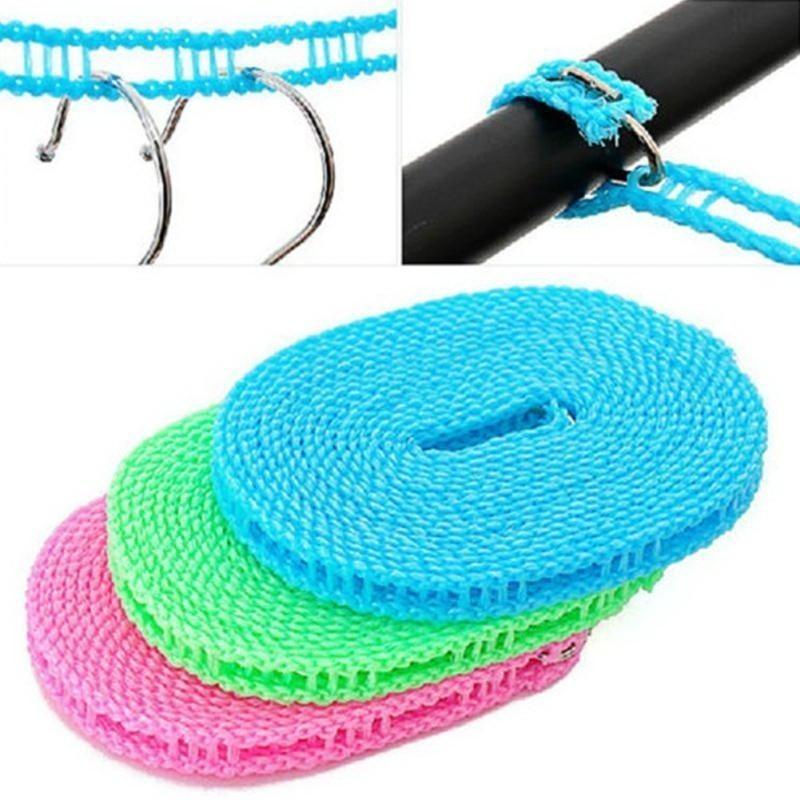 Антискользящая веревка для белья, вешалок, крючков