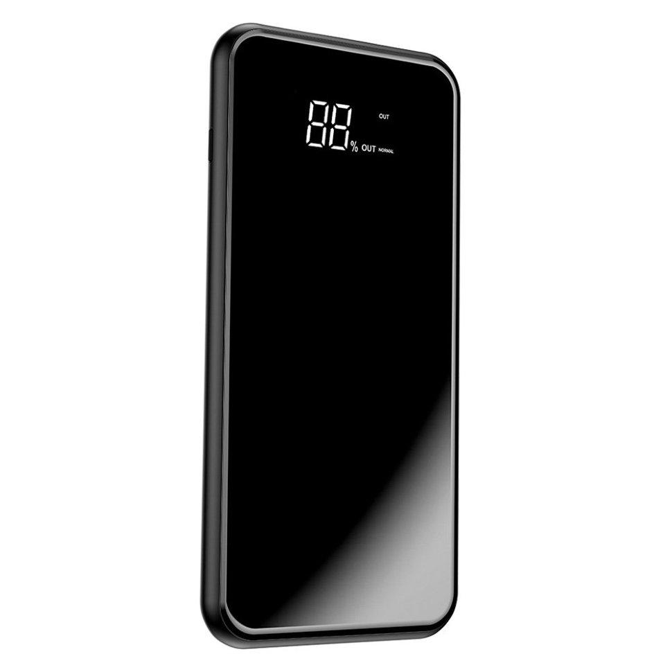 Внешний аккумулятор Power bank — Baseus Universal 8000mAh + Wireless charger, чёрный