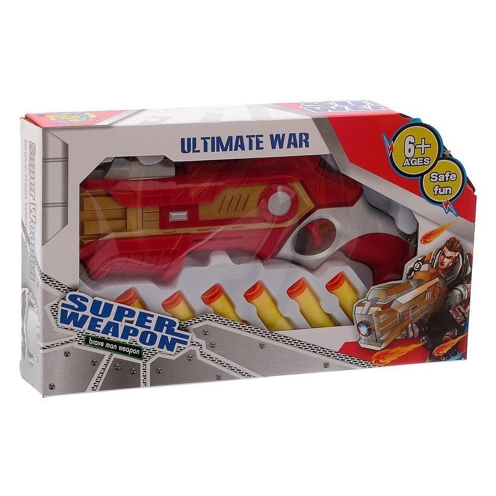 Купить Нерф бластер - Победитель, стреляет мягкими пулями, цвет микс, Игрушки для мальчиков