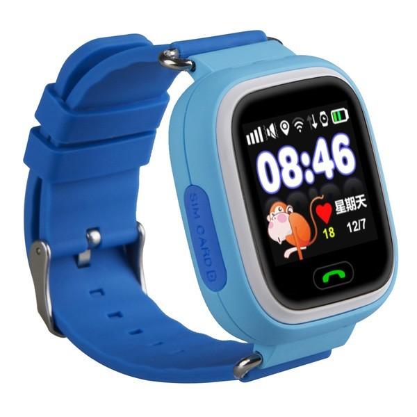 Smart Baby Watch G72 — умные детские часы с GPS, голубые