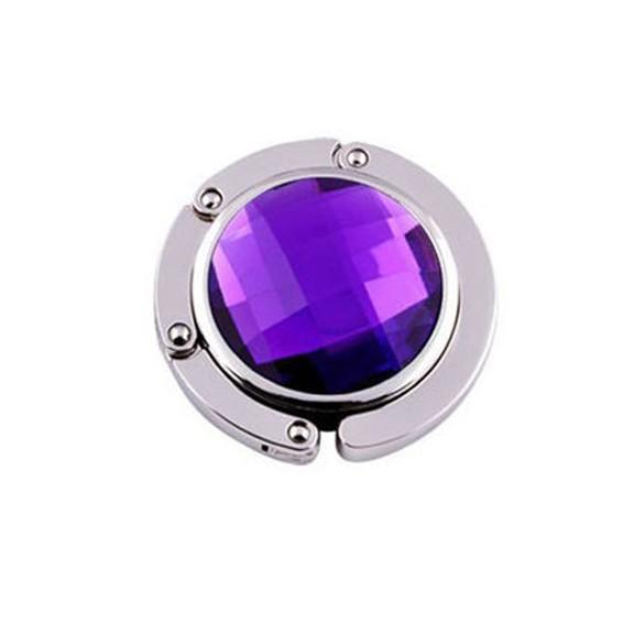 Крючок для сумки Jessie фиолетовый