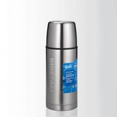 Термос 0,5 л. Biostal-Спорт 500NBPТермосы<br>Стальной термос 0,5 л. Biostal-Спорт 500NBP станет настоящей находкой для любителей активного образа жизни. Изделие сохранит оптимальную температуру горячих или холодных напитков на максимально долгий период времени. В подарок вы получите две пробки, которые созданы для дополнительной теплоизоляции.<br>