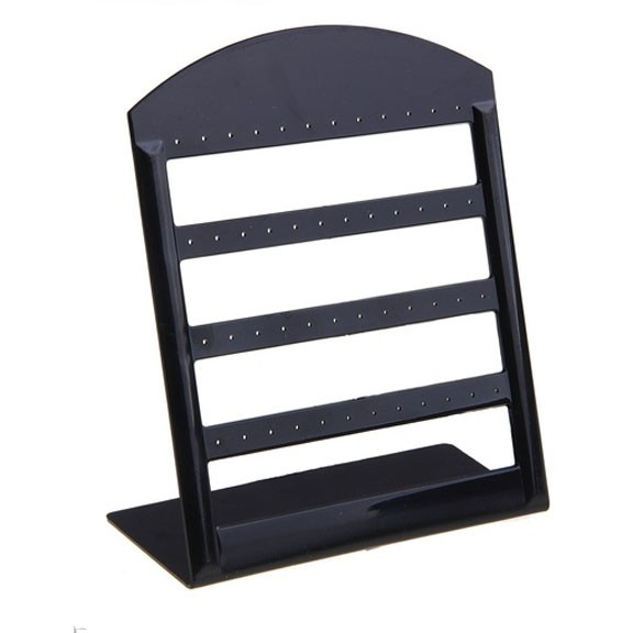 Подставка под серьги, 13x16 см, черная