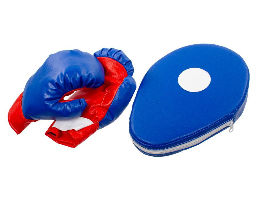 Купить Набор для бокса - Двойной удар (лапа, перчатки), Игрушки для мальчиков