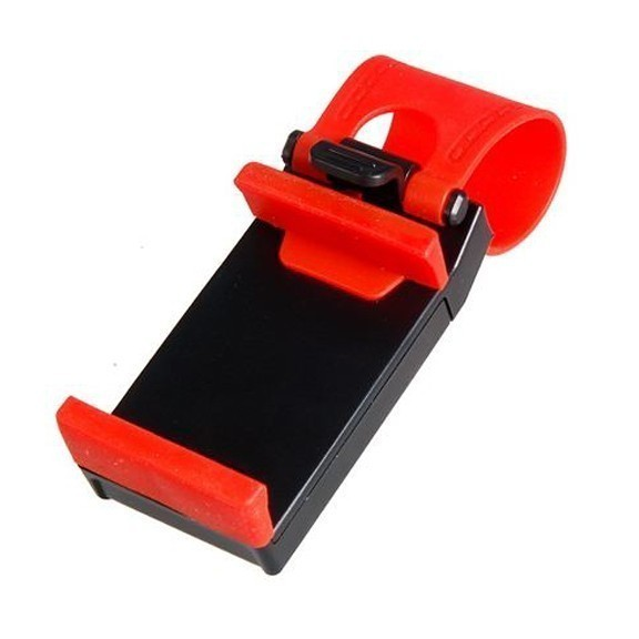 Держатель для телефона на руль авто — регулируемый