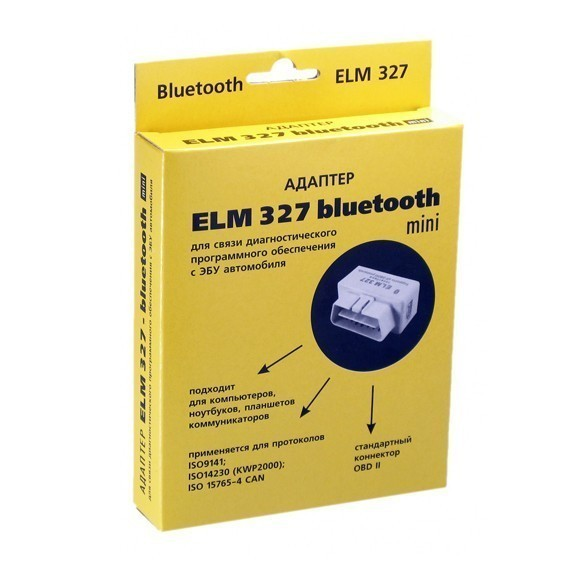 Адаптер ELM Bluetooth 327 Мини от MELEON