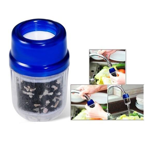 Фильтр для воды на кран - Бамбуковый угольНасадки на кран и душ<br>Качественная вода в кране - это залог здоровья всей Вашей семьи. А чтобы обеспечить себе такую необходимость, достаточно просто приобрести инновационный фильтр для воды «Бамбуковый Уголь».<br>