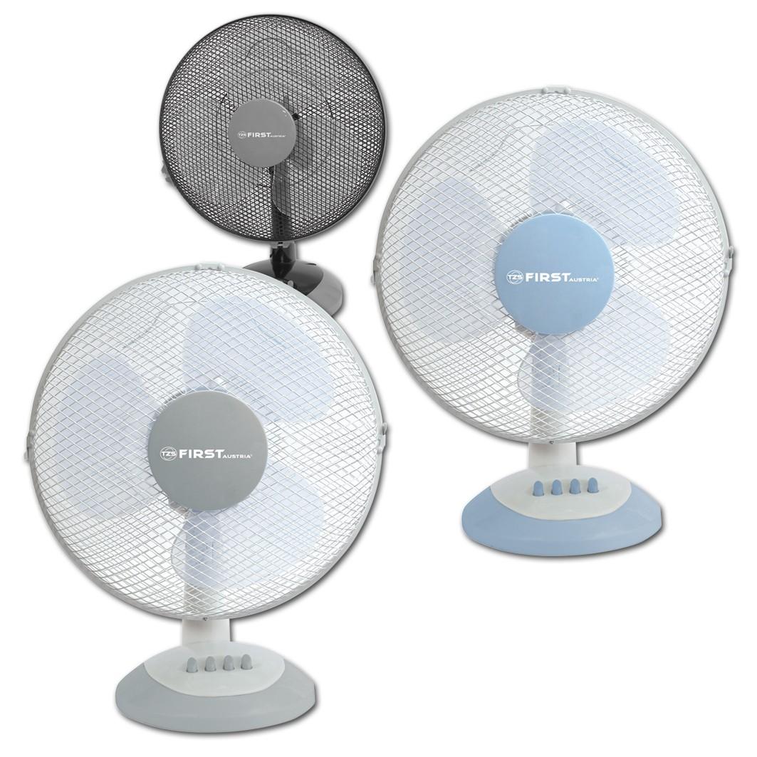 Вентилятор настольный FIRST 5551-BUВентиляторы<br>Настольный вентилятор First FA-5551 - подходящий вариант для использования в квартире.<br>