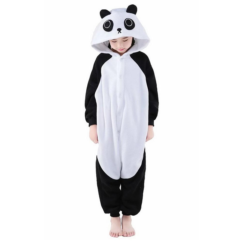 Пижама кигуруми Панда, детский, 4-5 лет (102-115 см)