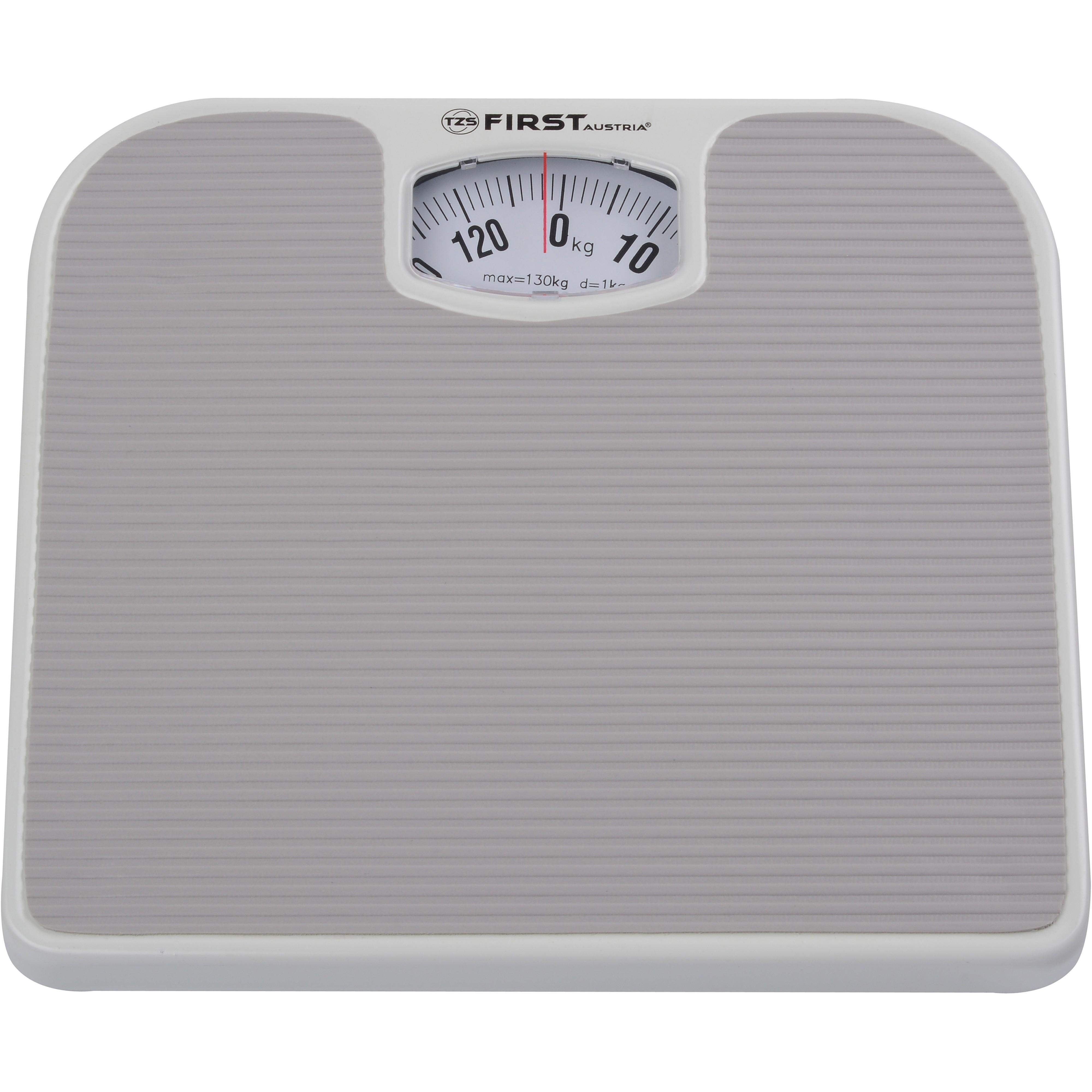 Весы напольные FIRST 8020-GRНапольные весы<br>Простым в использовании и надежным прибором для измерения веса человека, являются напольные весы. Такое устройство позволить вам измерить свой вес без лишних усилий в кратчайшие сроки прямо у себя дома.<br>