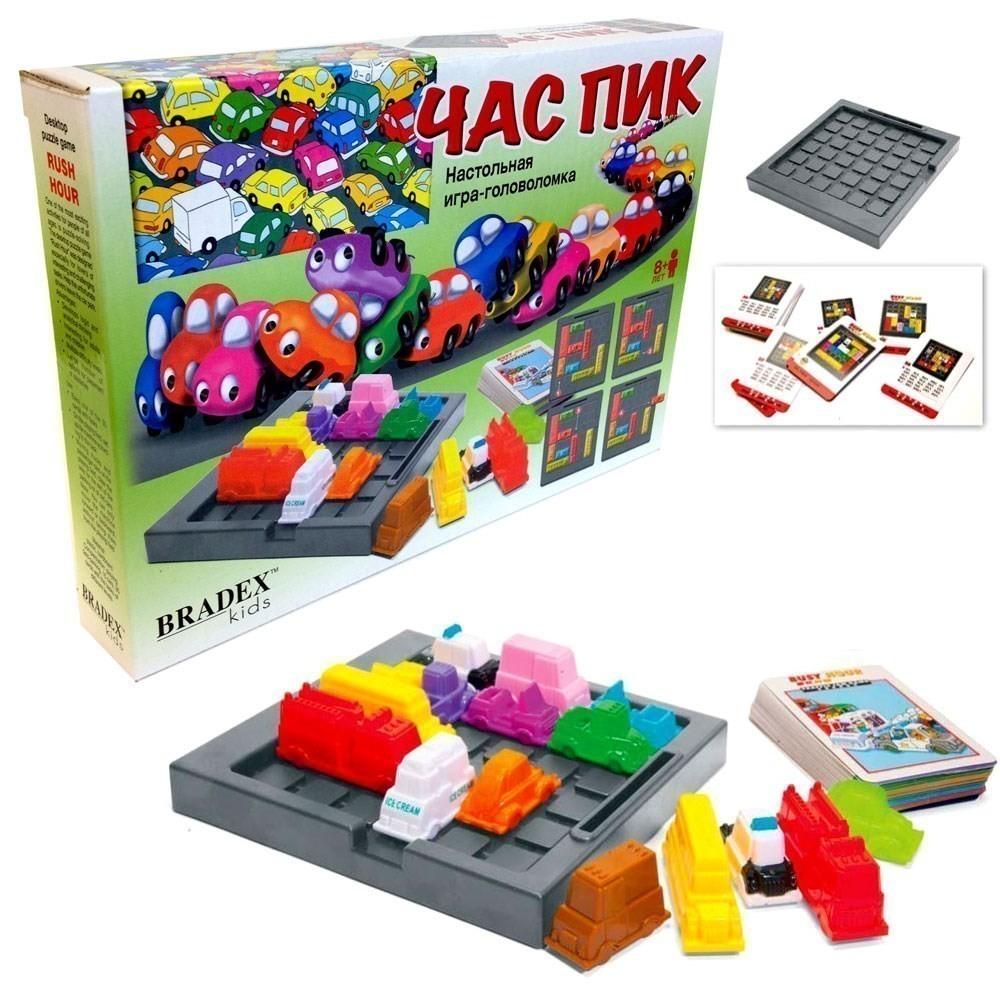 Настольная игра — головоломка — Час Пик