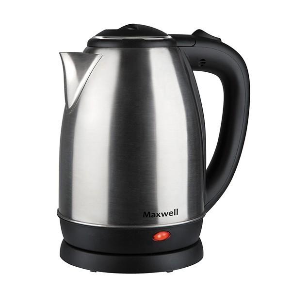 Чайник Maxwell 1081-MW(ST) MW-1081(ST)Электрочайники и термопоты<br>Электрический чайник Maxwell MW-1081(ST) прост в управлении и долговечен в использовании. Изготовлен из высококачественных материалов.<br>