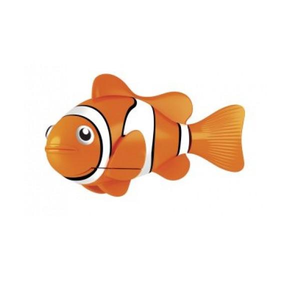 Роборыбка Robofish - Клоун оранжеваяИгрушки для ванной<br>Тропическая рыбка-робот не только выглядит как настоящая, она и двигается словно живая! Рыбка свободно плавает в воде - опускаясь на дно или всплывая ближе к поверхности, оплывая преграды и меняя скорость движения.<br>