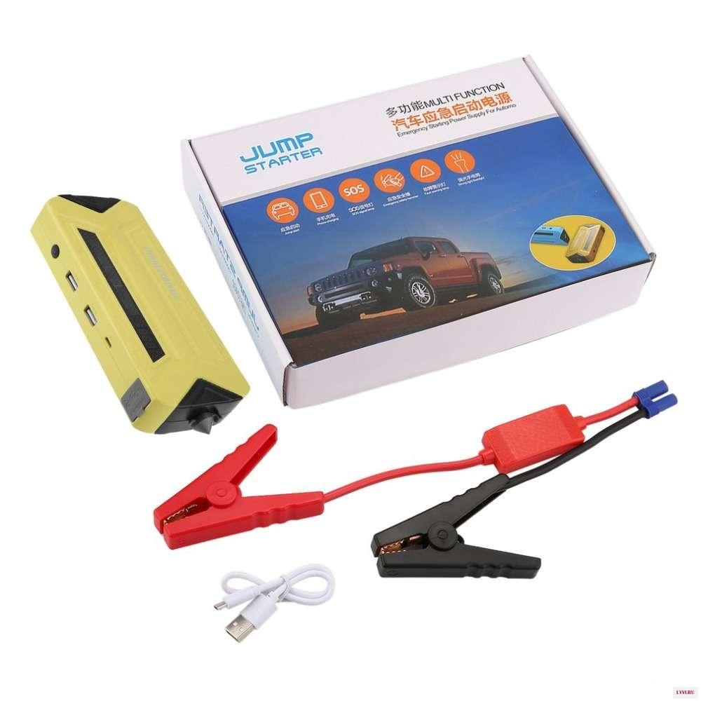 Пусковое устройство для автомобиля Jump Starter, цвет микс