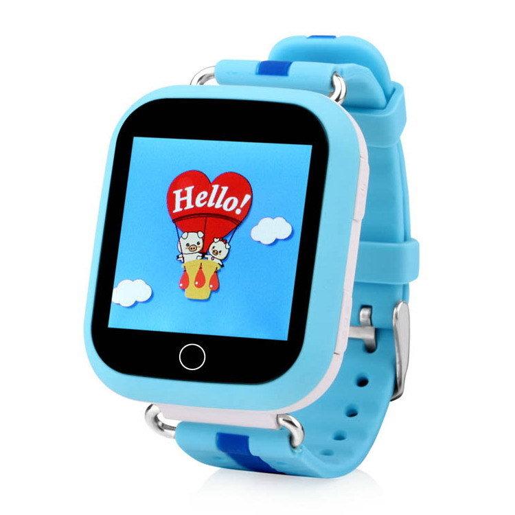Детские GPS часы Smart Baby Watch GW200S, голубые