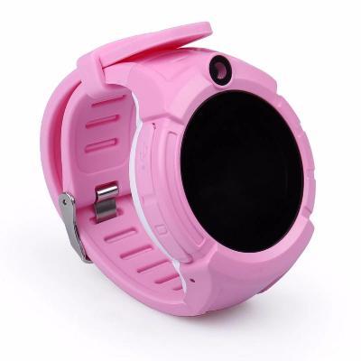 Детские GPS часы Smart Baby Watch Q360 с фонариком, розовый