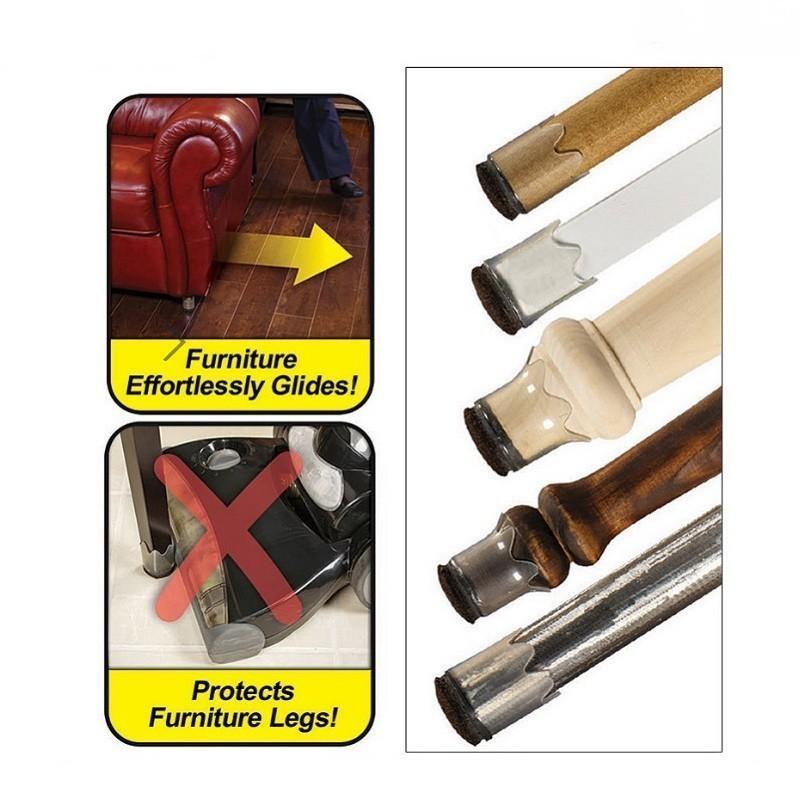 Защитные накладки для ножек мебели furniture feet, 8