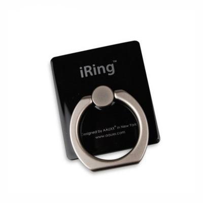 iRing — кольцо держатель для телефона, черный