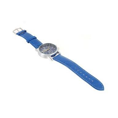 Модные кварцевые часы, Синий
