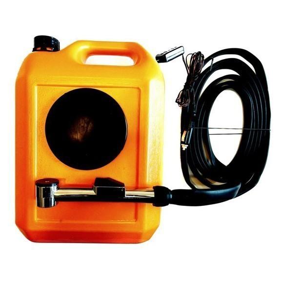 Минимойка Лонгер-душ с емкостью 10лАвтомойки<br>Минимойка состоит из пластмассовой емкости со встроенным мотором-насосом, электронного провода питания, шланга, щетки, штекера с предохранителем для подключения в гнездо прикуривателя, пластмассовой ручки с кнопкой и кармашка.<br>