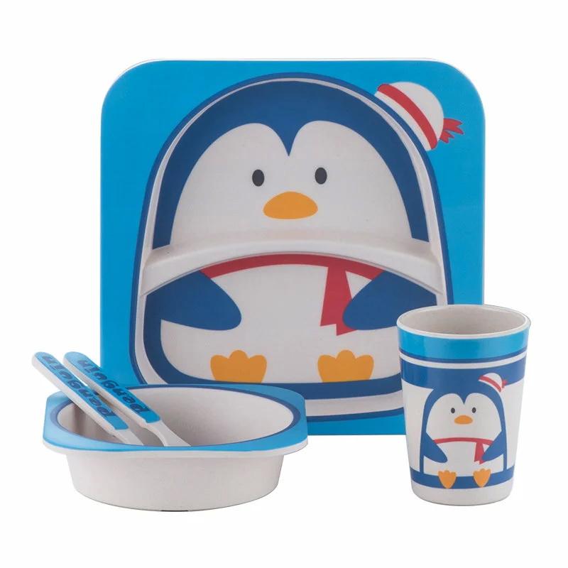 Детская эко-посуда из бамбука - ПингвинСервизы<br>Привыкли выбирать для своего ребенка все самое лучшее? Если вы знаете, что при покупке посуды нужно обращать внимания далеко не на один дизайн, а на используемые материалы, то обязательно обратите внимание на эко-посуду из бамбука. Она никогда не навредит здоровью вашего малыша!