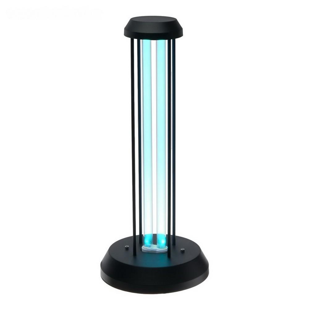 Светильник ультрафиолетовый бактерицидный Uniel, 36 Вт, озонирование, 185 нм., до 40 кв м, черный
