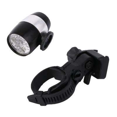 Мини-фонарь для велосипеда Mini Safety Light Dachelun 6 LED, чёрный