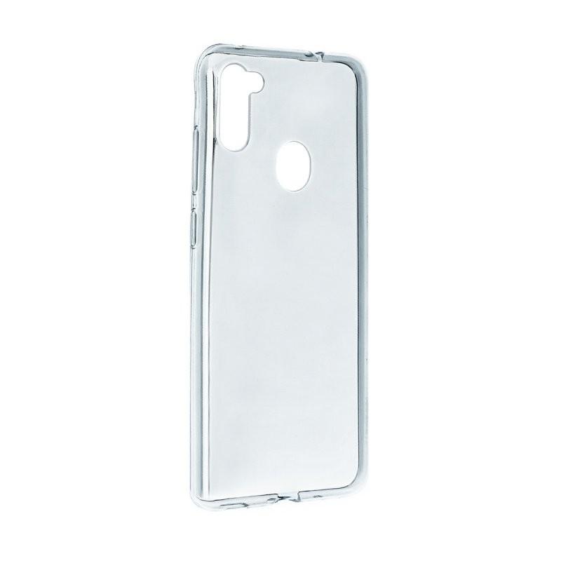 Силиконовый чехол «LP» для Samsung Galaxy M11 TPU (прозрачный) коробка  - купить со скидкой