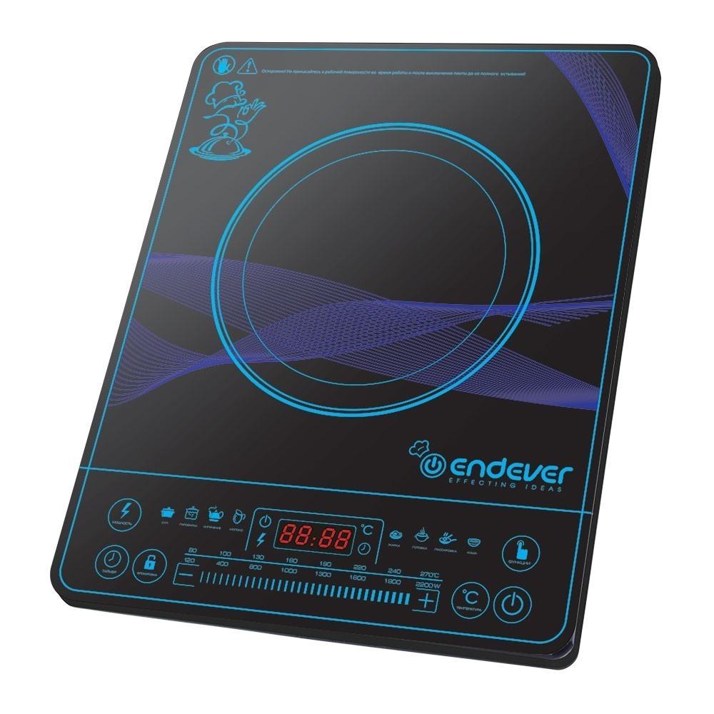 Плитка индукционная ENDEVER Skyline IP 32Электроплитки<br>Если Вам требуется качественная модель, то ультрамодная электрическая плита Endever SkyLine IP-32 – это именно то, что Вам нужно.<br>