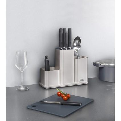 Органайзер для кухонной утвари настольный Joseph Joseph CounterStore, серебристый