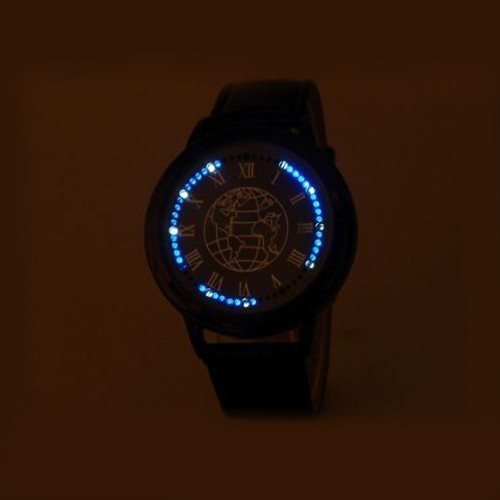 Светодиодные (LED) бизнес часы Nexer Earth от MELEON