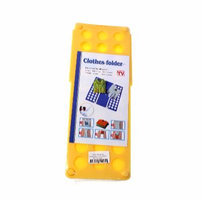 Рамка для складывания детской одежды Star Fold, желтыйВсё для сушки<br>Рамка для складывания детской одежды Star Fold – это настоящая находка для тех людей, которые хотят, чтобы вещи были сложены так же аккуратно, как в магазине. Благодаря этому простому аксессуару, вам удастся и грамотно сэкономить место в шкафу!