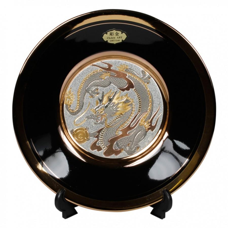 Подставка для тарелок - чёрная 5х7,5 смПодставка для тарелок черного цвета сможет украсить собой любой интерьер!<br>