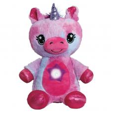 Мягкая игрушка ночник-проектор Star Belly Dream Lites, розовый