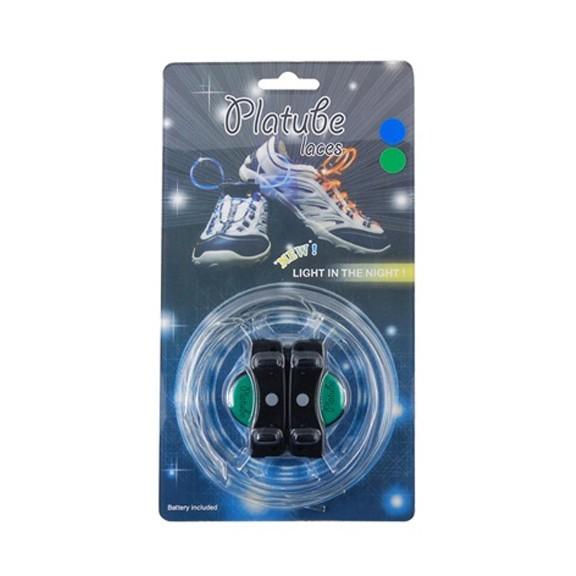 Шнурки с LED подсветкой (цвет зеленый)Остальные игрушки<br>Будь в тренде, будь круче, будь ярче! Шнурки с LED подсветкой – это твой способ эффектно выделиться из толпы! Светятся в темноте зеленым цветом в трех режимах – мерцание, затухание, непрерывный свет.<br>