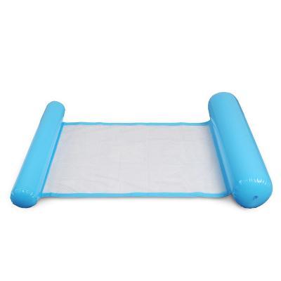 Складной плавающий гамак для воды — Floating Bed, голубой