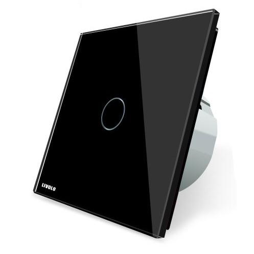 Сенсорный выключатель света Livolo 220 в, черный