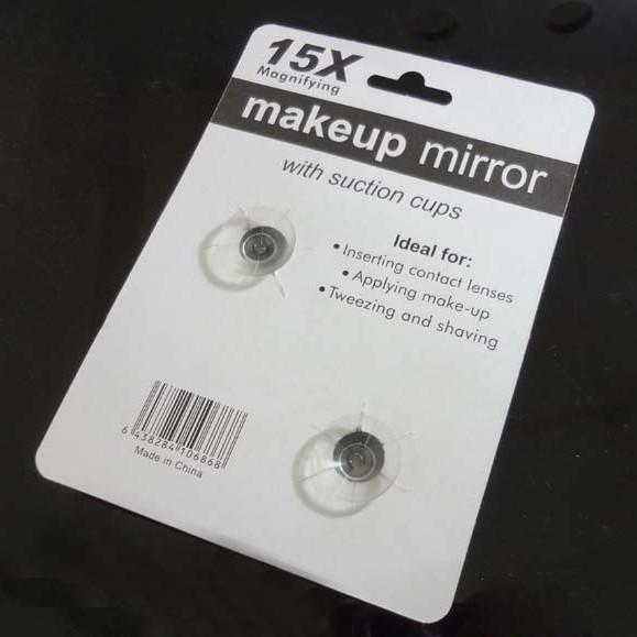 Зеркало для макияжа на присосках, увелич. х15 от MELEON