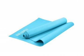 Коврик для йоги 173*61*0,3, бирюзовый фото