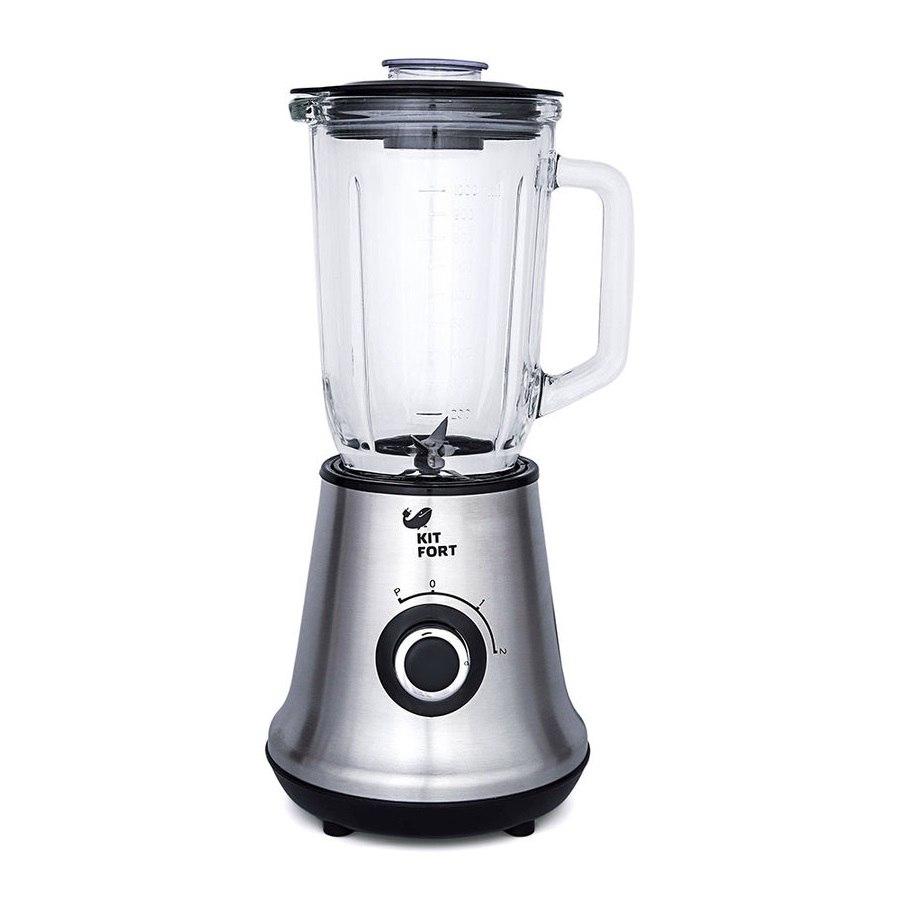 Блендер Kitfort КТ-1312Блендеры<br>Многофункциональный стационарный 3-в-1 Kitfort с функцией Shake Take, портативной бутылкой и кофемолкой станет настоящим помощником на вашей кухне<br>