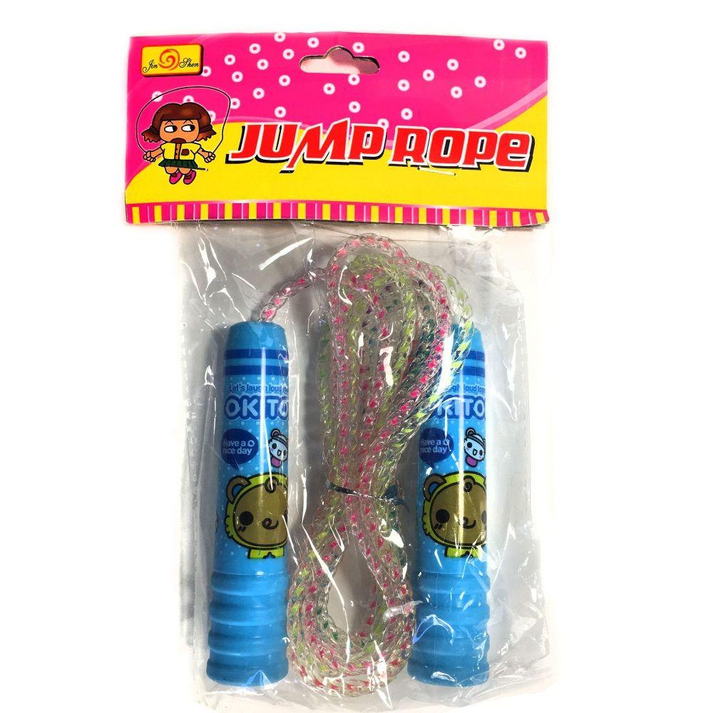 Детская скакалка Jump RopeСкакалки<br>Развиваете в своем ребенке любовь к спорту? Начать стоит с детской скакалки Jump Rope, поскольку именно она подойдет для всестороннего развития и подарит маленьким спортсменам хорошее настроение!
