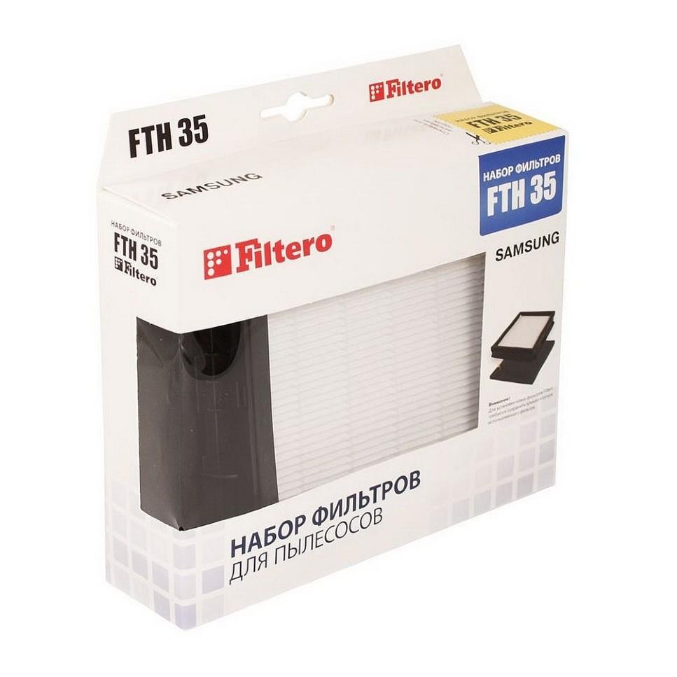Hepa фильтр (FTH 35) для пылесосов Samsung (SD 94…, SW 17 H 90…)Фильтры и щетки<br>Если вам кажется, что воздух после уборки в квартире является запыленным, а члены вашей семьи начинают активно чихать, то вам просто необходимо купить фильтр FTН 35, который создан специально для пылесосов Samsung (SD 94…, SW 17 H 90…). Благодаря этому компактному изделию, моторный отсек устройства будет защищен от попадания пыли, пылесос не будет слишком нагреваться, а вы ощутите чистоту и свежесть в воздухе сразу после уборки помещения!<br>